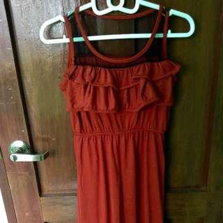 Maxi Dress Tangerine