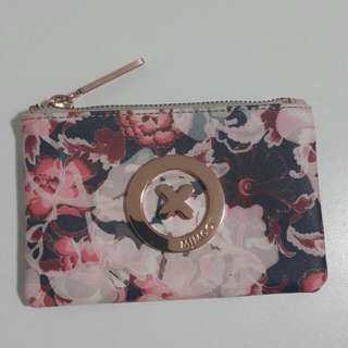 Mimco Dusty Pink Floral Small Pouch