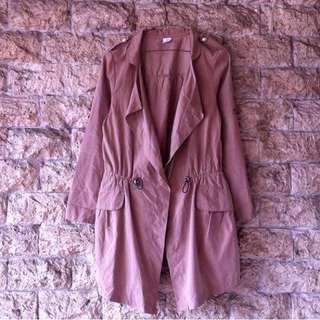 Lightweight Parka Jacket Blazer Coat