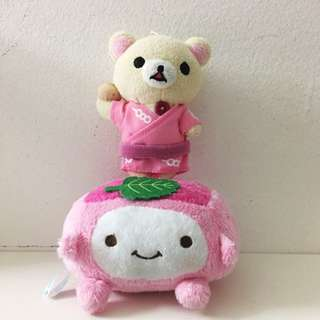 FREE!!!Rilakkuma and cute tofu