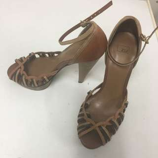 Neutral Browns - Platform Shoes