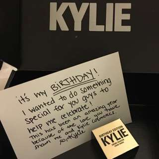 NEW - Kylie Cosmetics Creme Shadow In Copper - Birthday Edition