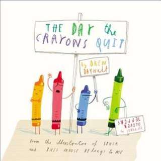 (BN/In-stock) Oliver Jeffers - The Day the Crayons Quit (paperback)