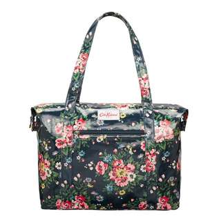 Cath Kidston Shoulder Bag Oilcloth - Flower Print
