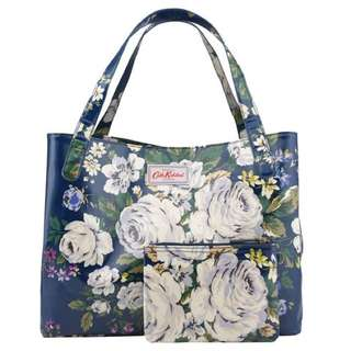 Cath Kidston Hampstead Rose Grab Tote (Large)