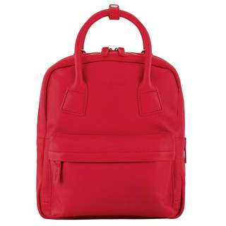 BN Cath Kidston Small Red Leather Backpack