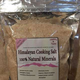 Himalayan Pink Fine Salt For Bath And Cooking