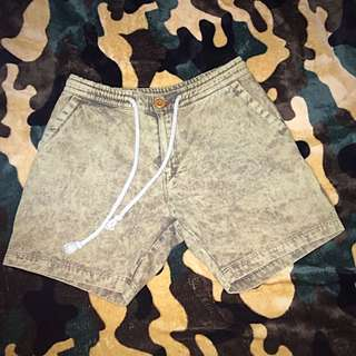 Vintage Fade Washed Shorts