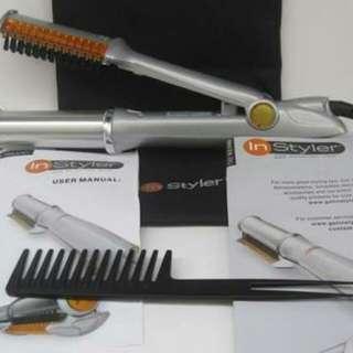 instyler rotating iron