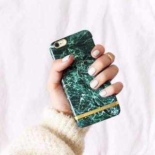 CC Collection 代購 Richmond & Finch iPhone 6/6P 7/7P 綠色大理石紋手機殼