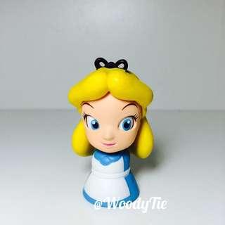 yujin 迪士尼 愛麗絲夢遊仙境 轉眼公仔 扭蛋 轉蛋 絕版