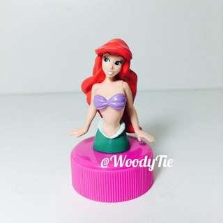 yujin 迪士尼 小美人魚 公主 瓶蓋 扭蛋 轉蛋 絕版