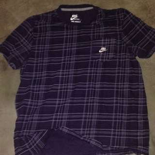 Authentic Nike Flannel-Style Tee