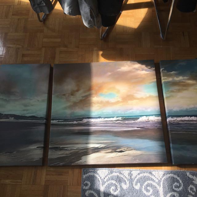 3 Piece Wall Art
