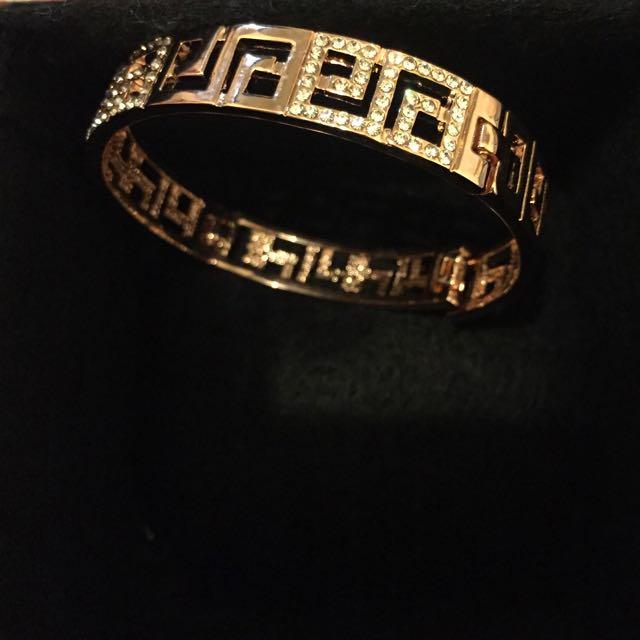 全新玫瑰金手環