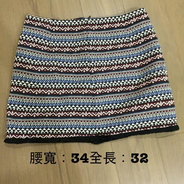 民族風短裙