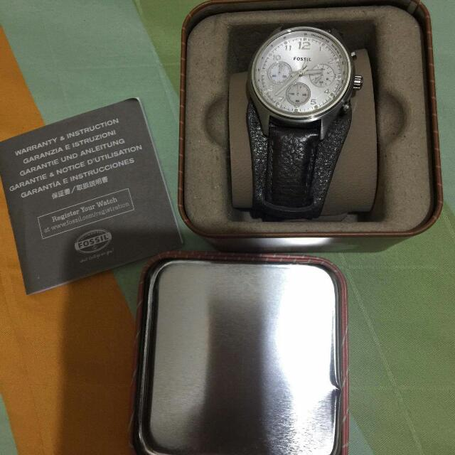 auth fossil watch