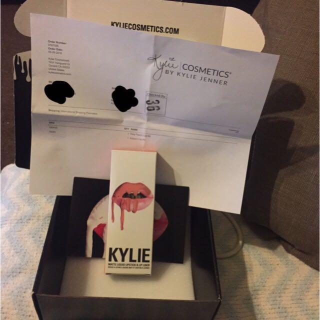 Authentic Kylie Jenner Dirty Peach - Lip Kit