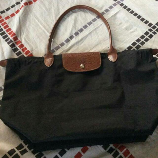 Authentic Longchamp 'Large Le Pliage'  Tote