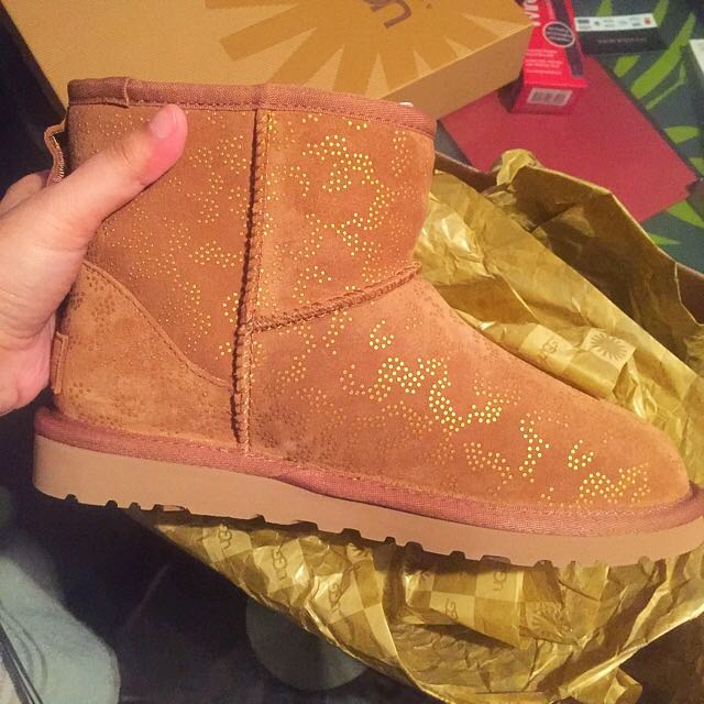 Authentic Metallic Conifer Ugg