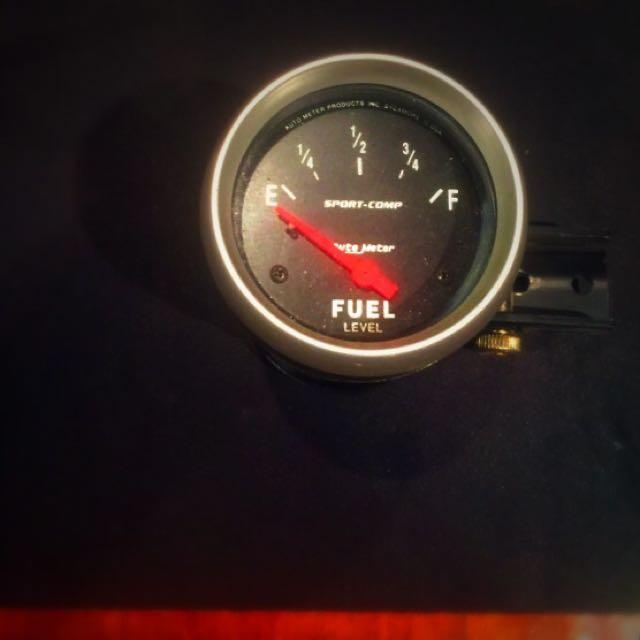 """Auto meter 2 1/2 """" Fuel Gauge"""