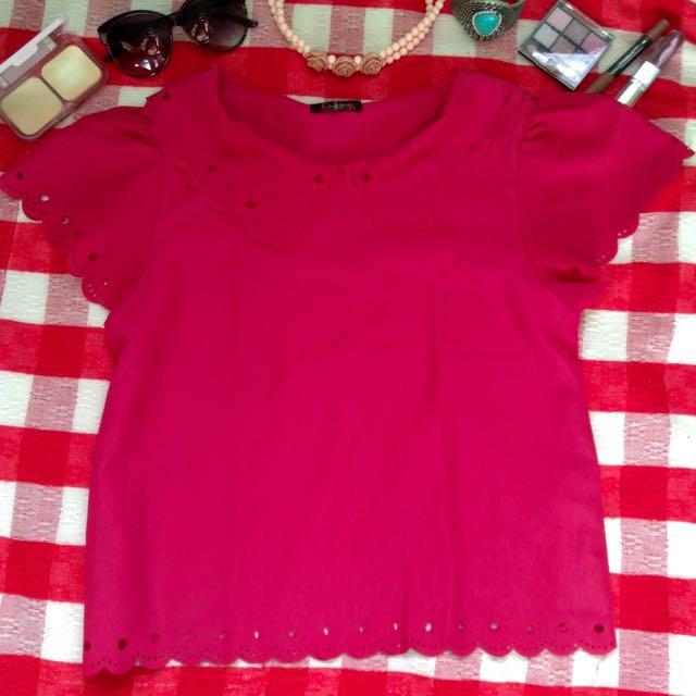 Blouse Fuschia Pink