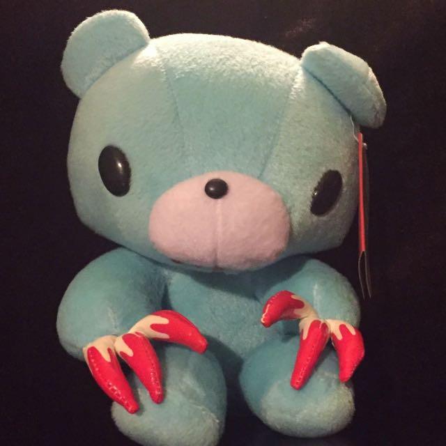 Blue Gloomy Bear