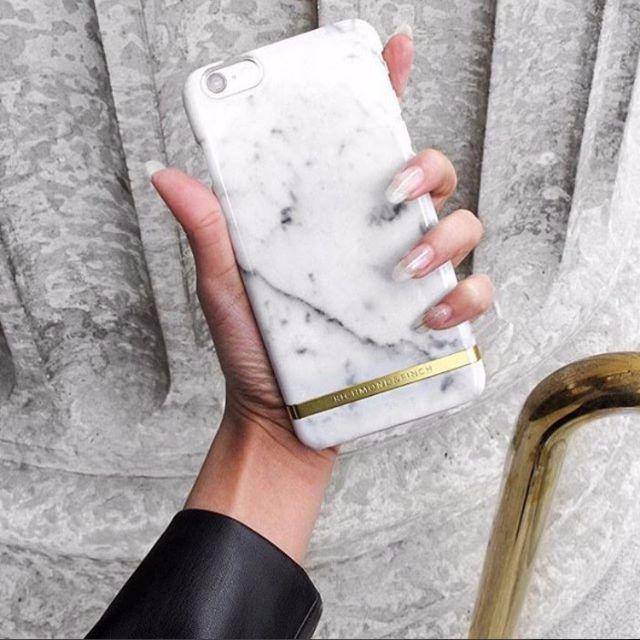 CC Collection 代購 Richmond & Finch iPhone 6/6P 7/7P 白色大理石紋手機殼