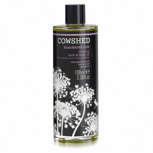 英國頂級香氛COWSHED 累累牛舒緩沐浴油