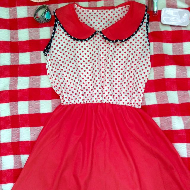 Dress Mini Polka Dots