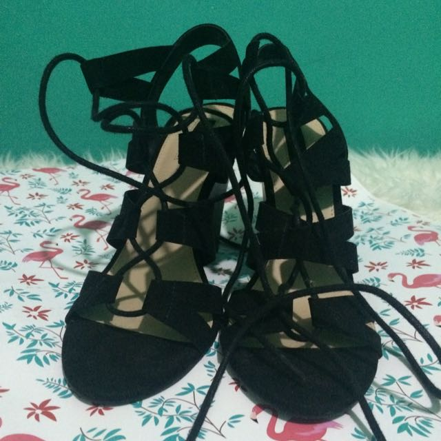"forever 21 wedges ""rope"" 38"