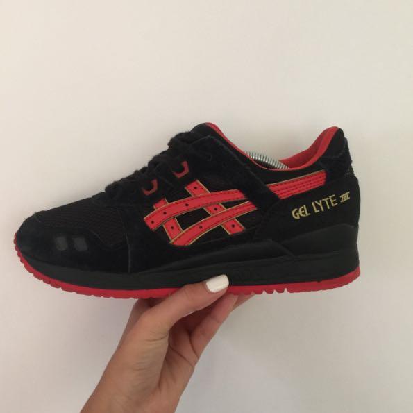 GEL LYTE - 3 BLACK/RED