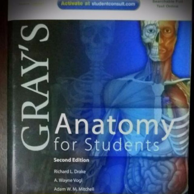 Gray\'s anatomy for students 2nd edition, Books & Stationery, Fiction ...