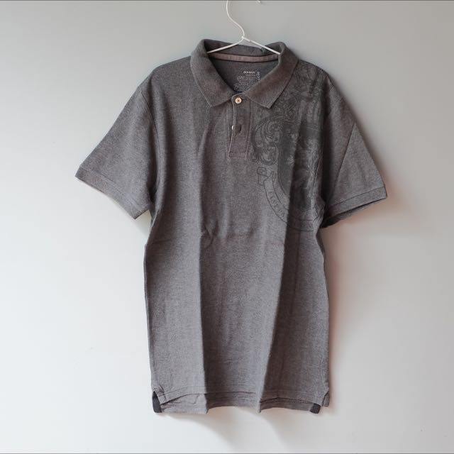 Grey Polo By OLD NAVY