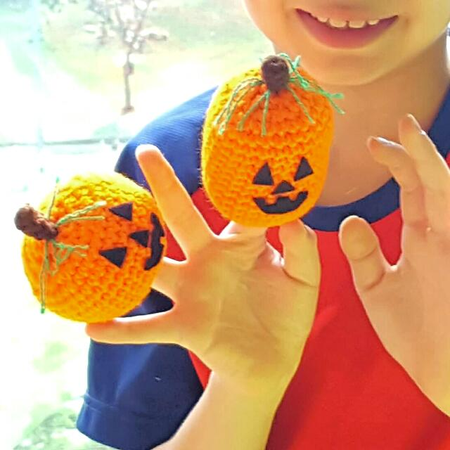 Easy crochet pattern Halloween Pumpkin table decor Amigurumi   Etsy   640x640