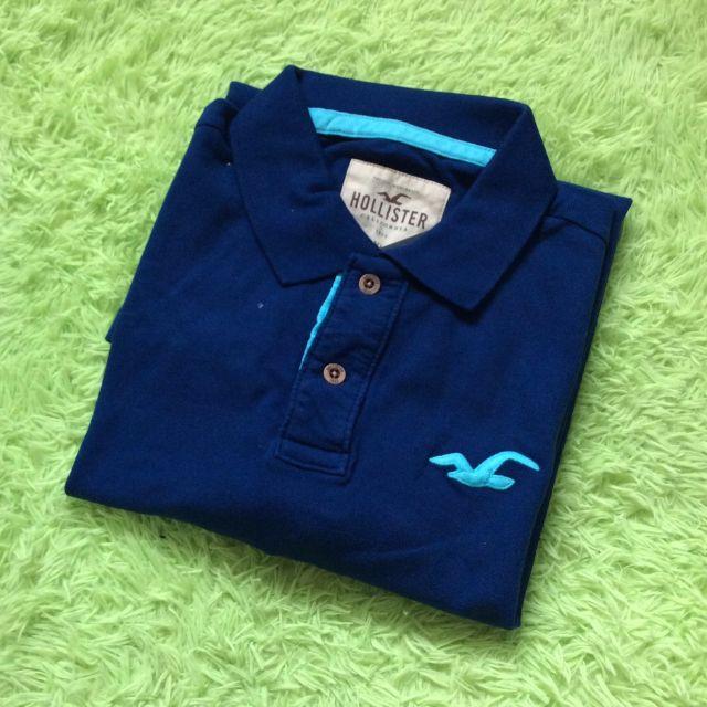 HOLLISTER 海鷗POLO衫(XL)