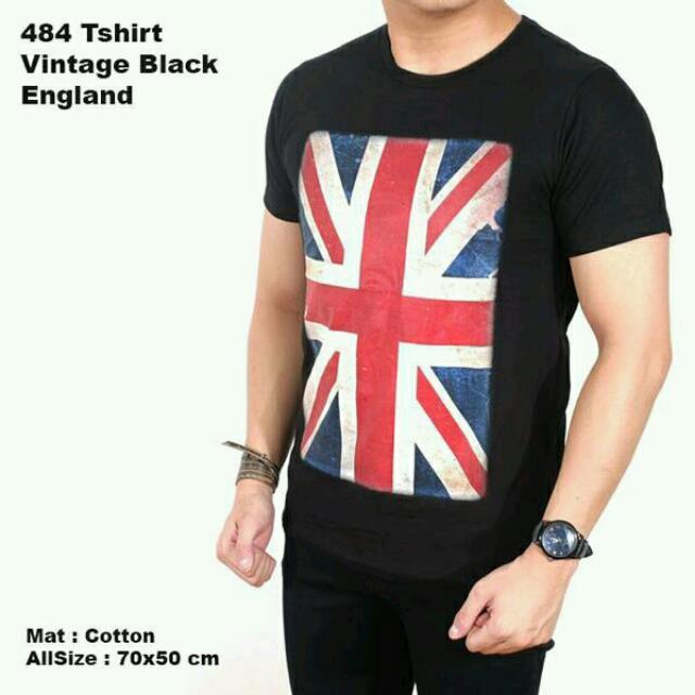Kaos Oblong Bendera Inggris Distro