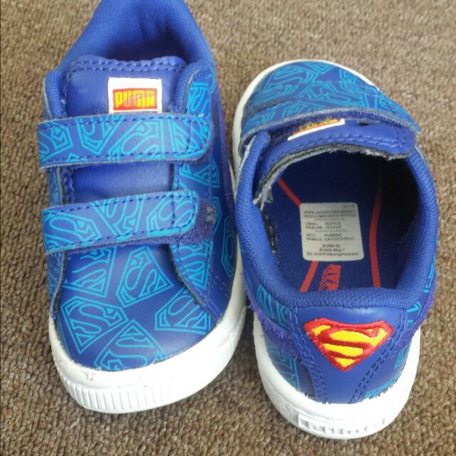 Kids Superman Puma Shoes