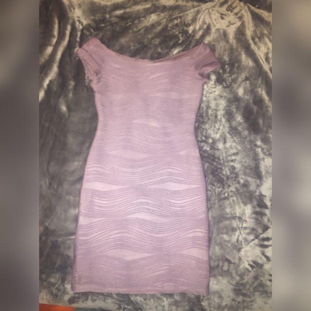 Lavender Formal Dress