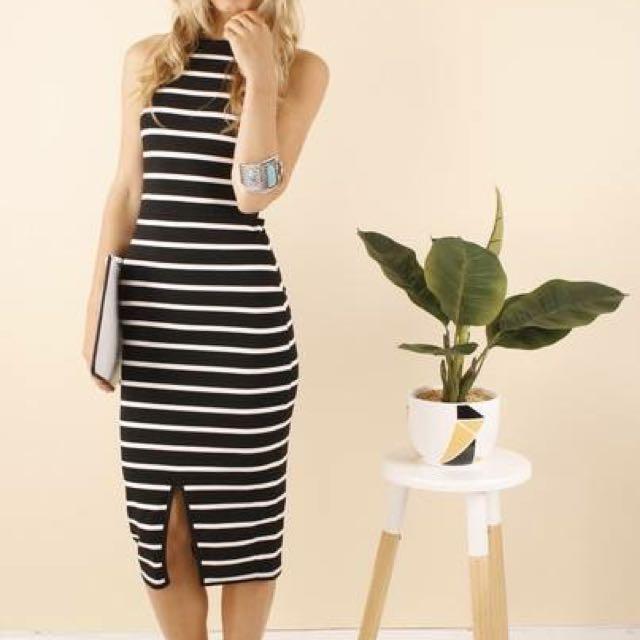 Levora Stripe Dress