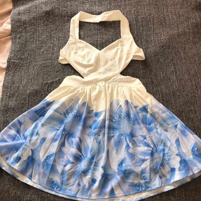 Loving Things Halter Dress 6