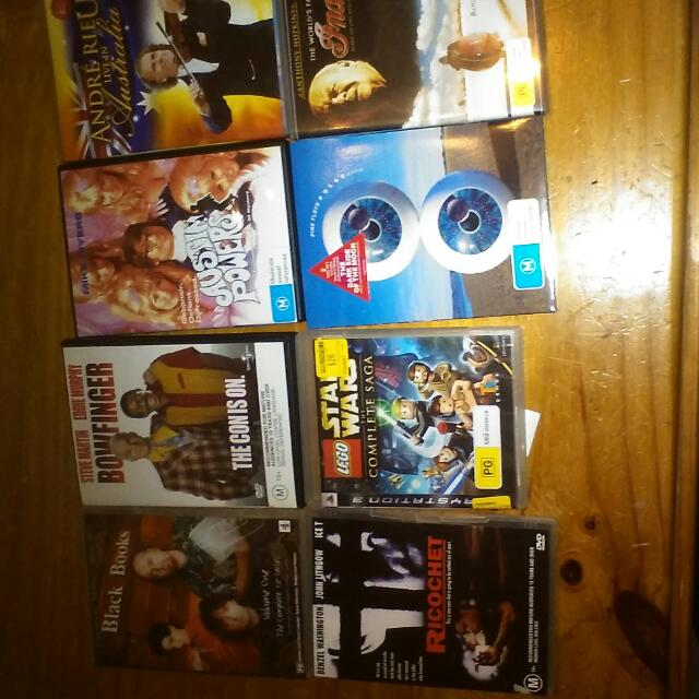 Movies And Ps3 Games