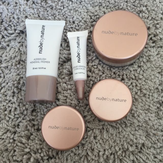 Nude By Nature Bundle (light)