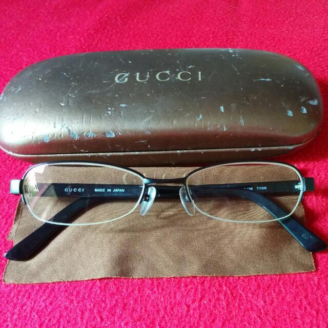 Original Gucci Glasses Titanium