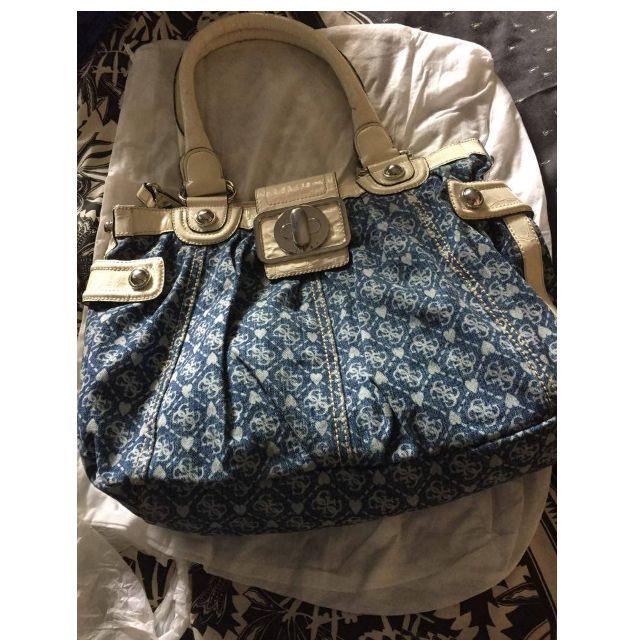 original guess large handbag