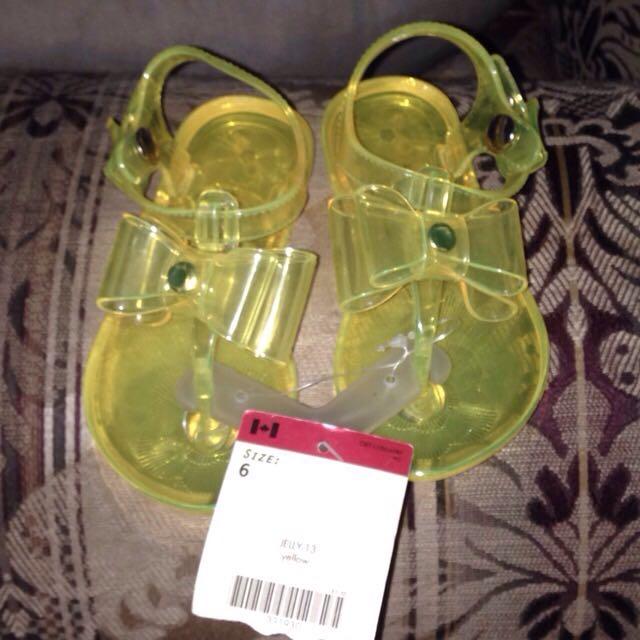 Oshkosh Girls Jelly Sandals