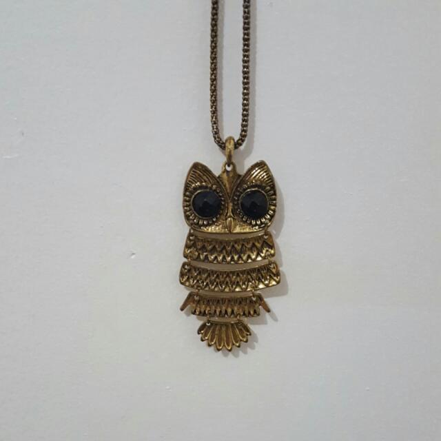 Owl Fashion Necklace