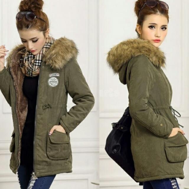 Parka Jacket Size M