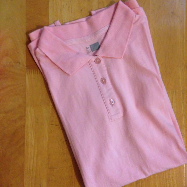 🤗免運🤗NET舒適好感Polo衫-粉色