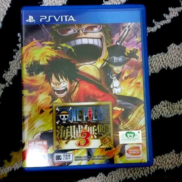 PS Vita 遊戲片 海賊無雙3 中文版